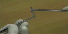 Handling of Scalpel Blade