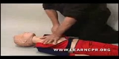 Cardiopulmonary Resuscitation Demonstration for a Child