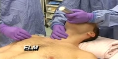 Bimanual aryngoscopy procedure