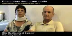 Canadian Spine Patients Artificial Disc Replacement Surgery in India