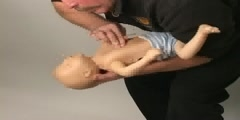 What to do when an infant is choking
