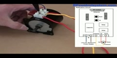How to Reverse AC Motor by RF Controller on Momentary Mode