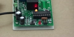 How to operate dc long distance rf remote controller receive