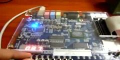 PWM signal generator test