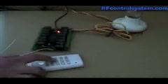 15CH DC12V RF Wireless Remote Control Switch Operation